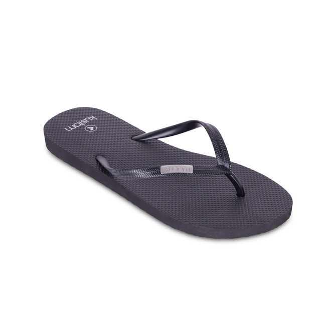 KUSTOM THONGS & SANDALS ​CLASSIC / BLACK SILVER