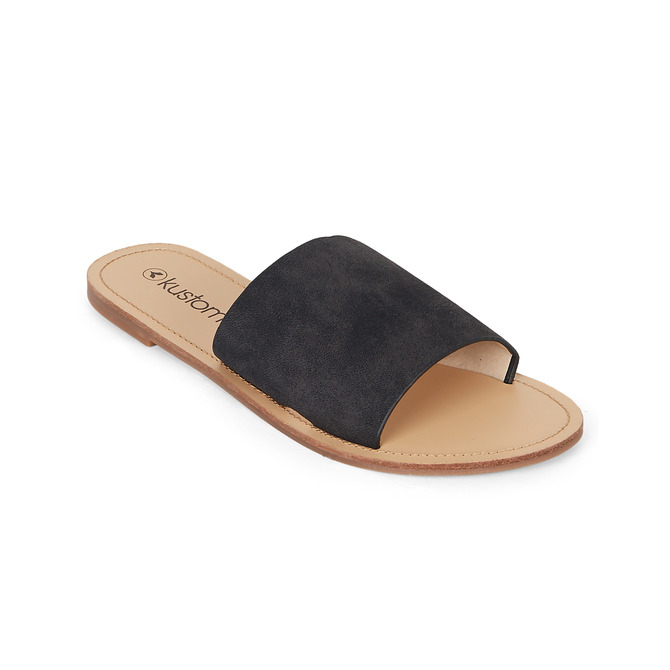 BYRON SANDAL / BLACK TAN