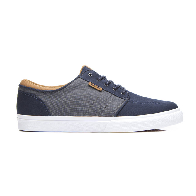 REMARK SHOE / NAVY GREY TAN