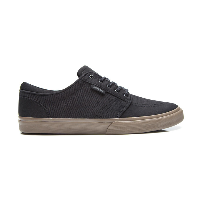 REMARK SHOE / BLACK TWILL