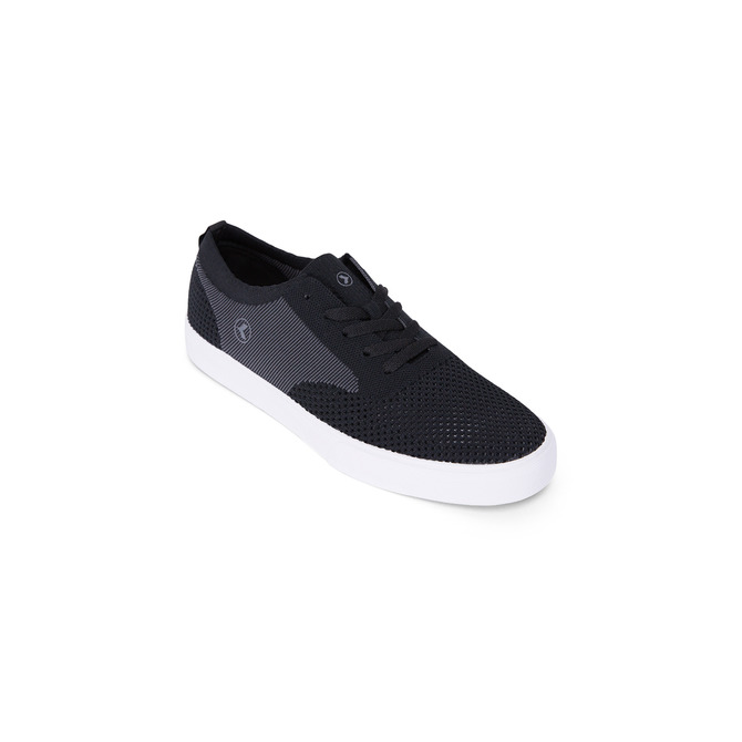 BURLEIGH KNIT SHOE / BLACK GREY