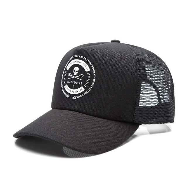 SEA SHEPHERD TRUCKER CAP / BLACK