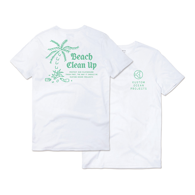 BEACH CLEAN UP TEE