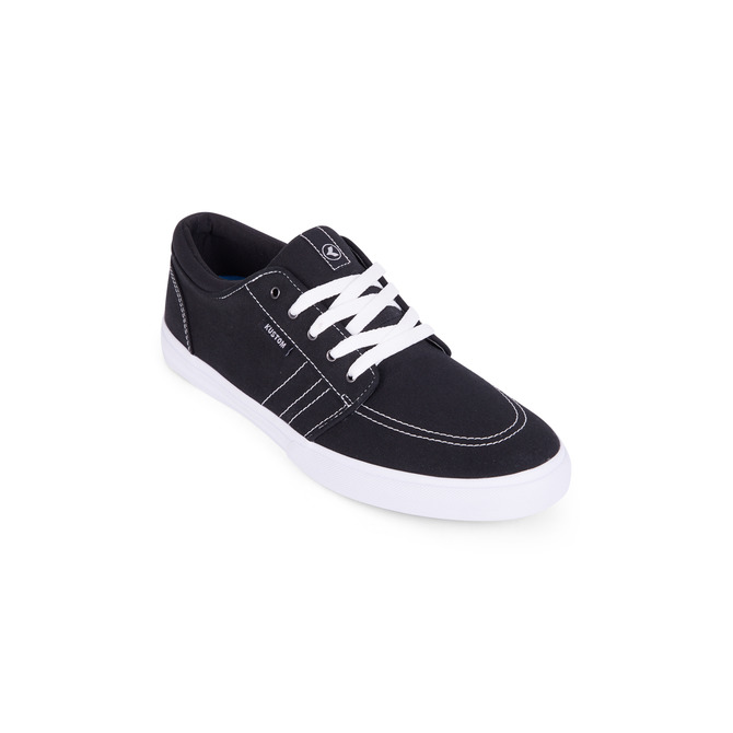KUSTOM SHOES REMARK / BLACK WHITE