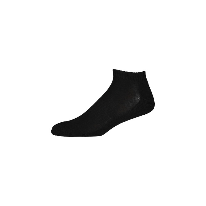 THE STANDARD ANKLE SOCK / BLACK WHITE