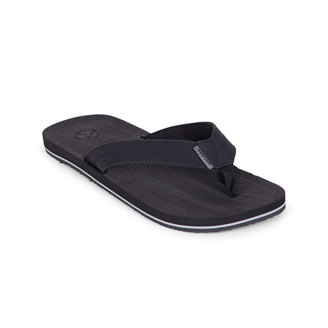 KUSTOM THONGS RIPPLER DLX / BLACK