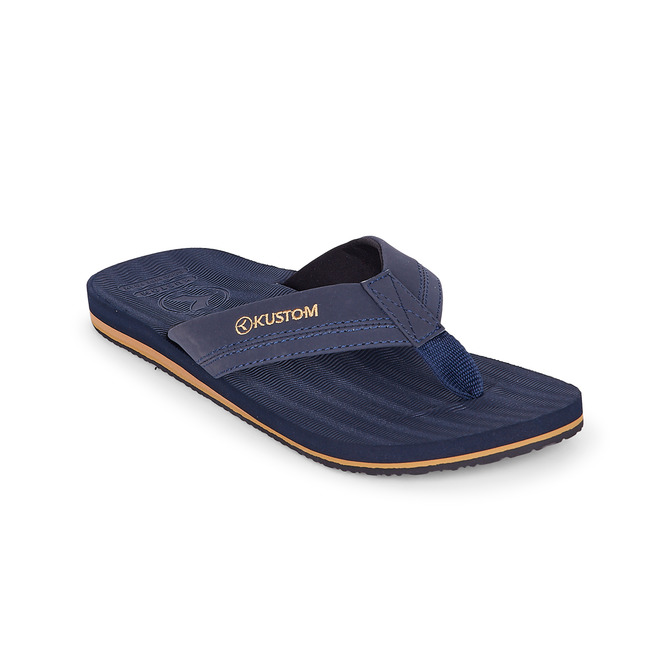 KUSTOM THONGS BURLEIGH / NAVY