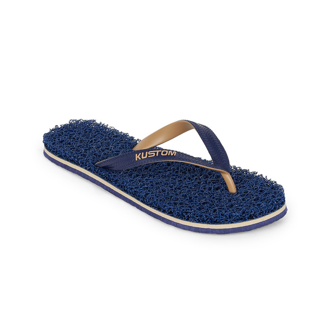 KUSTOM THONGS NOODLE / NAVY TAN
