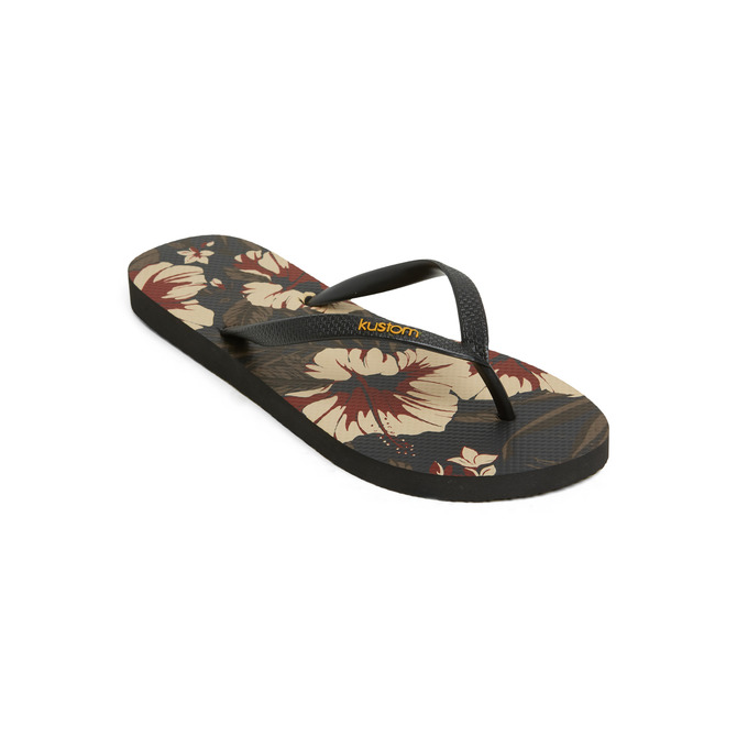 KUSTOM THONGS & SANDALS CLASSIC / FLORAL