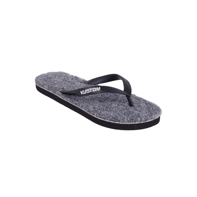 KUSTOM THONGS KARPET THONG / GREY HEATHER