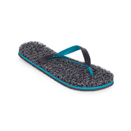 KUSTOM THONGS NOODLE MARLE / BLACK GREY CYAN