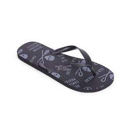 KUSTOM THONGS SEA SHEPHERD THONG / BLACK GREY