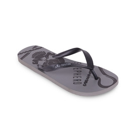 KUSTOM THONGS SEA SHEPHERD THONG / CHARCOAL