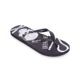 KUSTOM THONGS SEA SHEPHERD THONG / BLACK WHITE