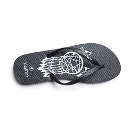 KUSTOM THONGS & SANDALS CLASSIC  / BLACK THUNDER