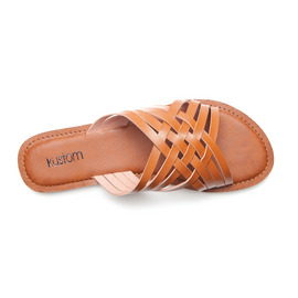 KUSTOM THONGS & SANDALS MYKONOS / TAN