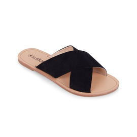 KUSTOM THONGS & SANDALS SYMI SANDAL / BLACK