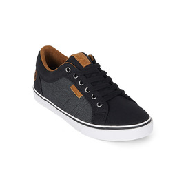 KUSTOM SHOES BOYS HIGHLINE CLASSIC SHOE / BLACK GRANITE