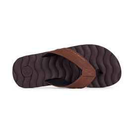 KUSTOM THONGS HUMMER DLX THONG / CHOC BROWN