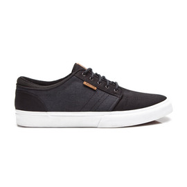 KUSTOM SHOES REMARK SHOE / BLACK MICRO