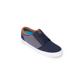 KUSTOM SHOES REMARK / NAVY GREY TAN