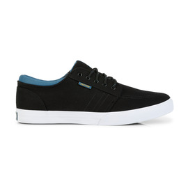 KUSTOM SHOES REMARK SHOE / BLACK BLUE