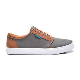 KUSTOM SHOES REMARK SHOE / GREY TAN