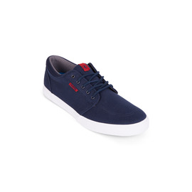 KUSTOM SHOES REMARK SHOE / NAVY RED