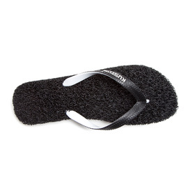 KUSTOM SANDALS NOODLE THONG / BLACK WHITE