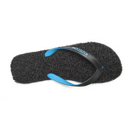 KUSTOM SANDALS NOODLE THONG / BLACK CYAN