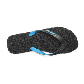 KUSTOM THONGS BOYS NOODLE / BLACK CYAN