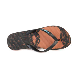 KUSTOM SANDALS BLEND BASE THONG / BLACK VINTAGE