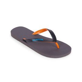 KUSTOM THONGS BLEND BASE / ORANGE CHARCOAL