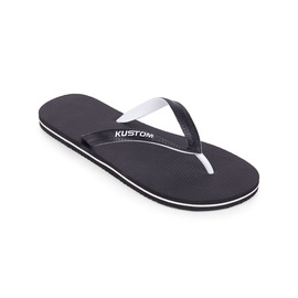 KUSTOM THONGS BLEND BASE / BLACK WHITE