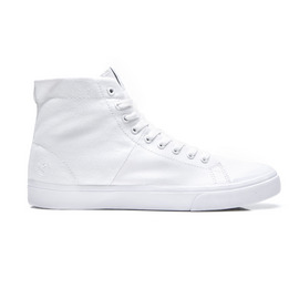 KUSTOM SHOES WORLD VULC HI / ALL WHITE