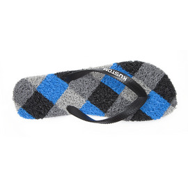 KUSTOM SANDALS NOODLE THONG / BLACK GREY BLUE