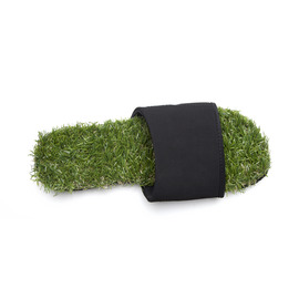 KUSTOM THONGS KEEP ON THE GRASS SLIDE / GREEN