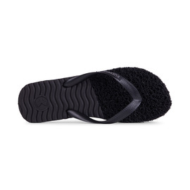 KUSTOM THONGS NOODLE RIPPLE THONG / BLACK