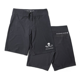 KUSTOM CLOTHING & ACCESSORIES SS BOARDSHORT BLK