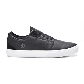 KUSTOM SHOES SCAPE VULC / BLACK LEATHER