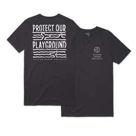 KUSTOM CLOTHING & ACCESSORIES OCEAN PROJECTS / PLAYGROUND TEE / BLACK