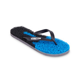 KUSTOM THONGS NOODLE DRIP THONG / BLACK BLUE