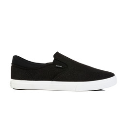 KUSTOM SHOES REMARK SLIP ON SHOE / BLACK SPECKLED