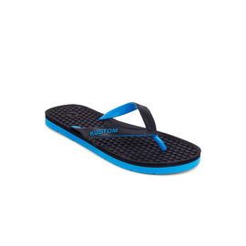 KUSTOM THONGS GRIPPA THONG / BLACK BLUE