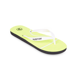 KUSTOM THONGS TENNIS FLIP THONG / NEON YELLOW