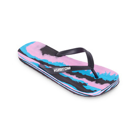 KUSTOM THONGS FOAMY / BLUE PINK