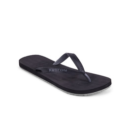 KUSTOM THONGS FOAMY / BLACK