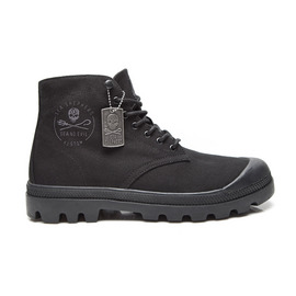 KUSTOM SHOES SEA SHEPHERD X KUSTOM COMBAT BOOT / BLACK BLACK