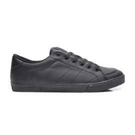KUSTOM SHOES KRAMER SHOE / BLACK LEATHER