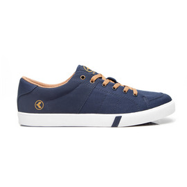KUSTOM SHOES KRAMER SHOE / NAVY GOLD DIVIDE
